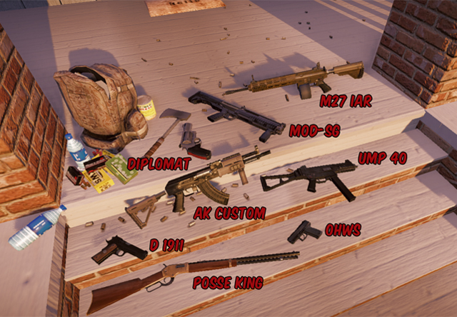 State of Decay guns