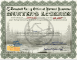 full sized hunting license