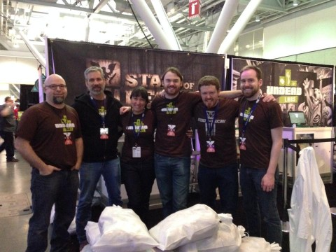 Undead Labs showing Lifeline at PAX East 2014 - we few, we happy few, we band of brothers