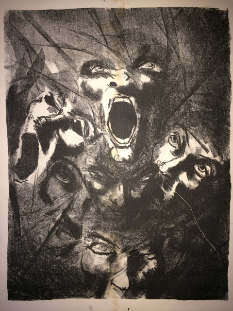"""""""Untitled"""" - My first and favorite litho"""