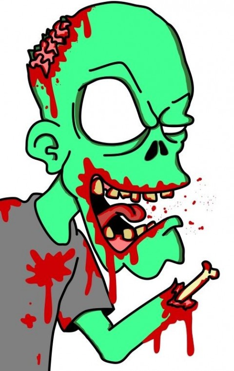 CharlieChainsaw's Zombie - Don't hug it!