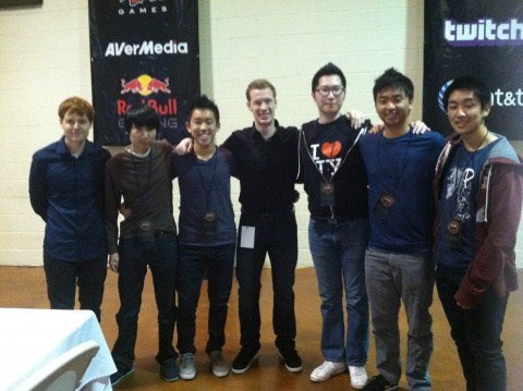 Attending a tournament in Texas with my college League of Legends team.