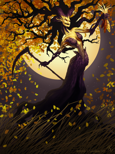 Autumn's Reckoning, by Krista Leemhuis