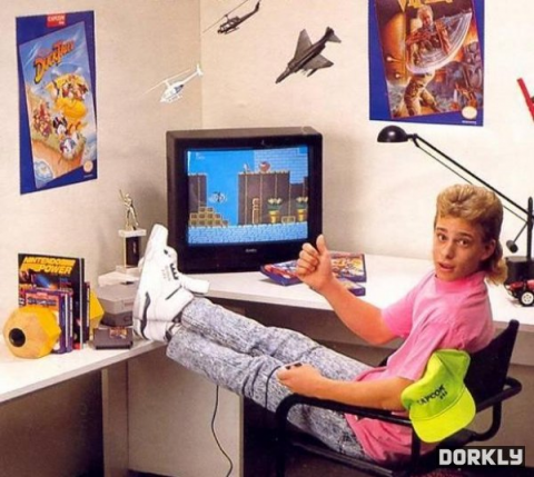 Not actually me, but I did have a Hypercolor shirt and hightop kicks...